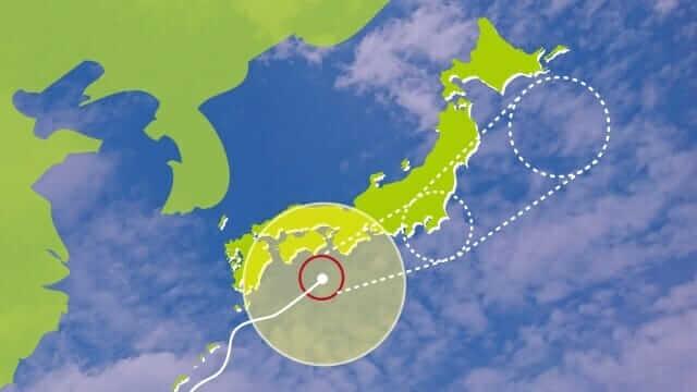旅行台風1