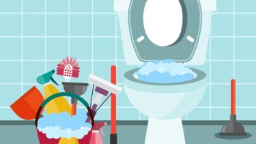 トイレ掃除は臭い!?トイレ掃除の仕方にはコツがあった