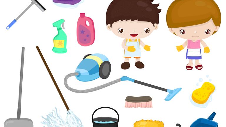 酢を使って掃除