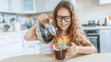 コーヒー 子供への影響