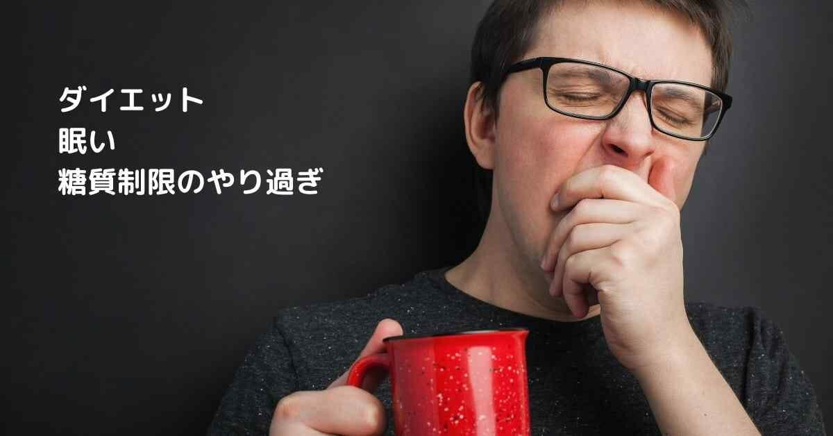ダイエット 眠い (1)