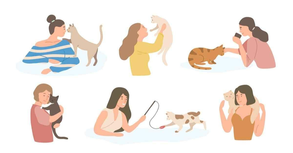 猫が抱っこ (1)