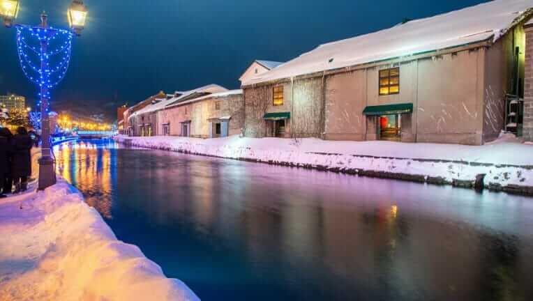 北海道旅行の冬
