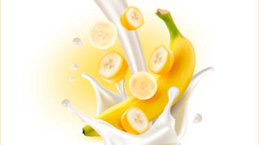 ヨーグルト バナナ