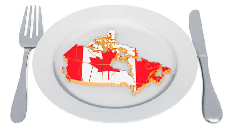 カナダ 料理 まずい