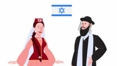 イスラエル 女性 性格