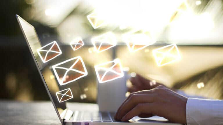 メールを書く