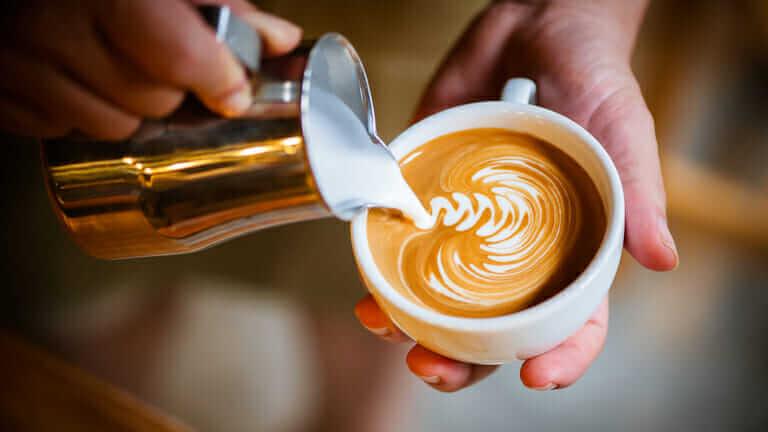 コーヒー 豆乳 分離