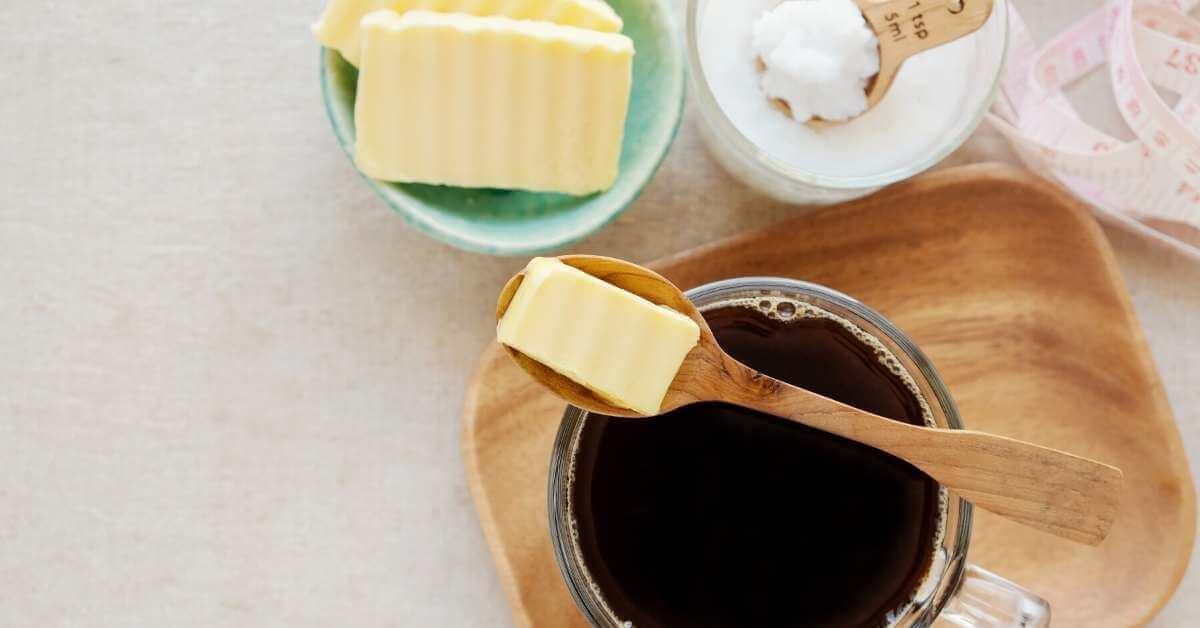 バターコーヒーのグラスフェッドバター