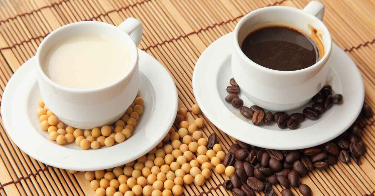 コーヒーの豆乳効果