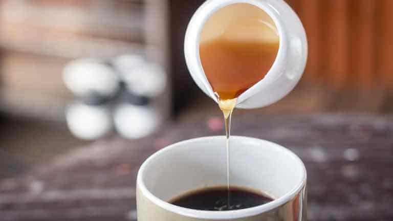コーヒー はちみつ