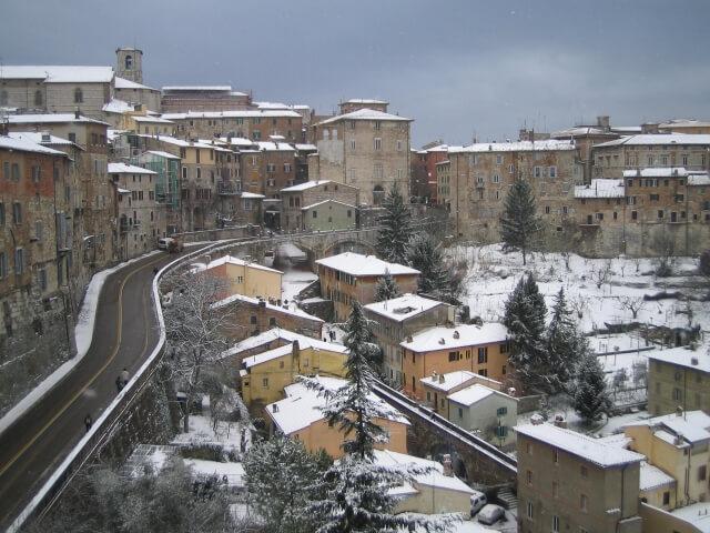 イタリア 冬