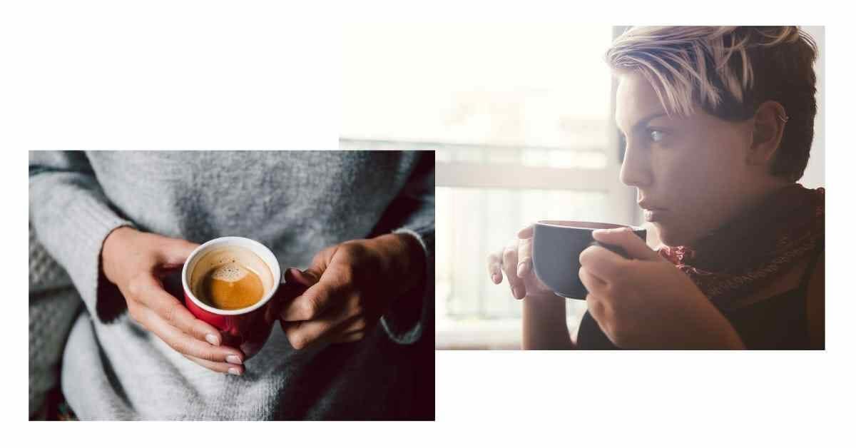 生理中のコーヒー (1)