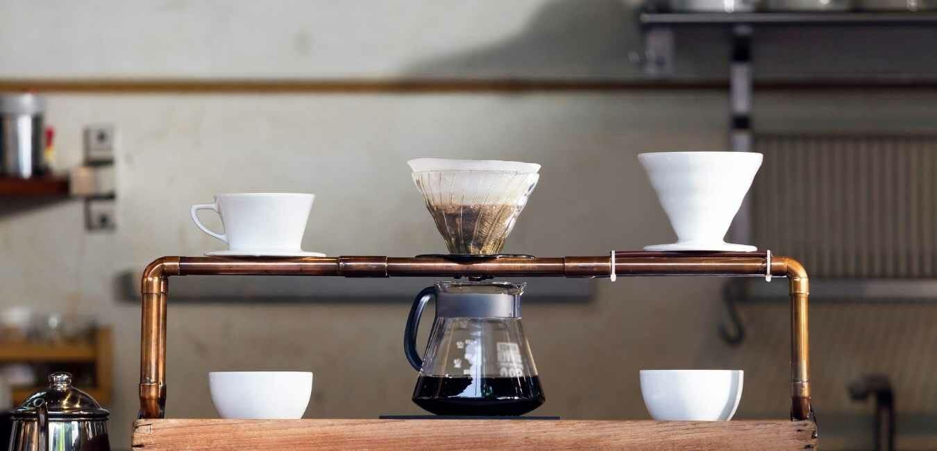 コーヒー ドリップスタンド